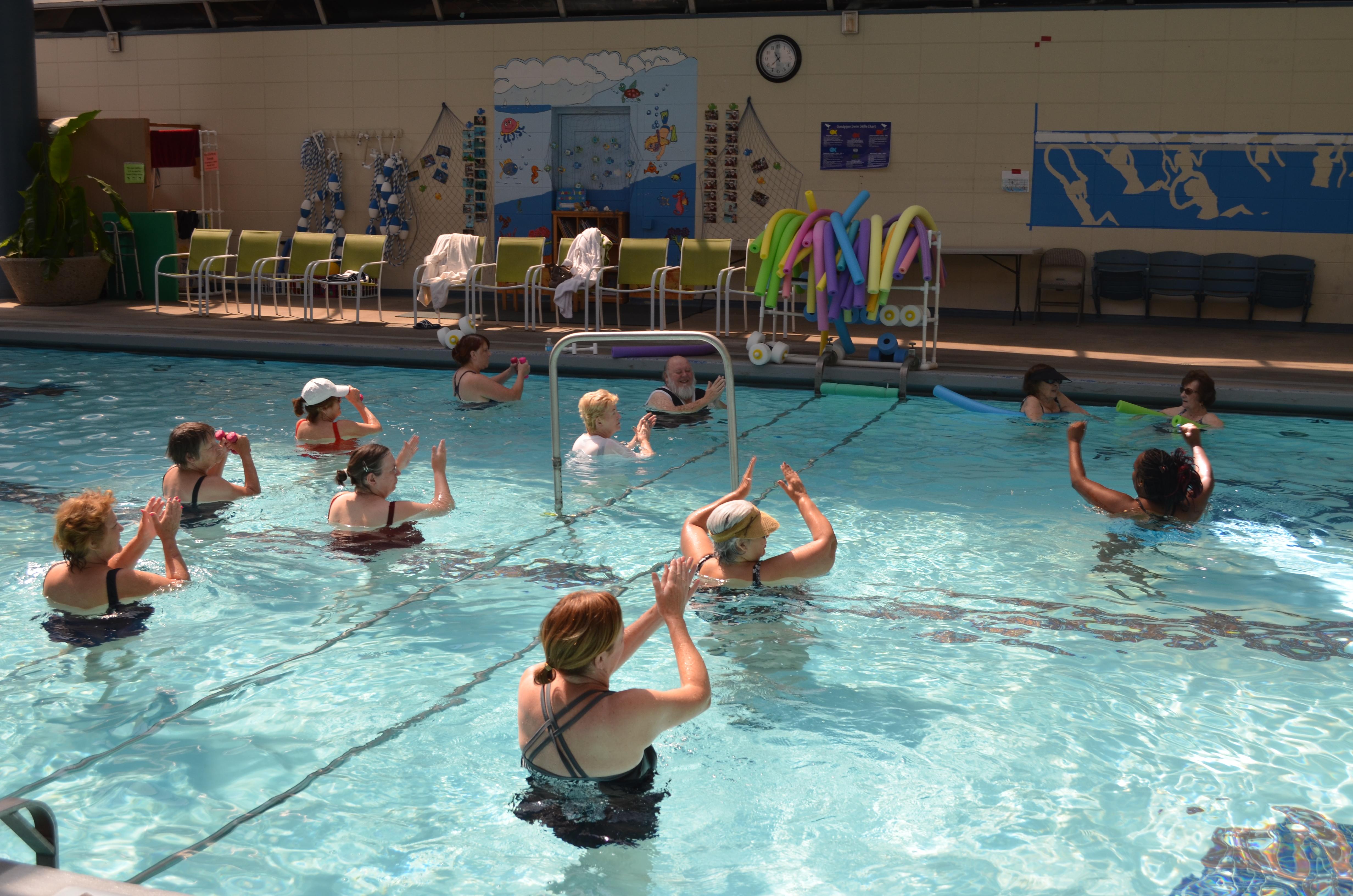 Aquatic Exercise Classes Rehabilitation Institute Of Southern California