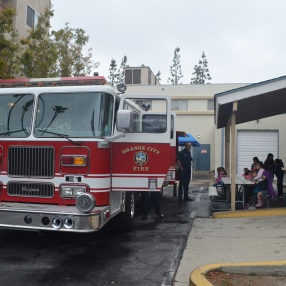 Visit from City of Orange Fire Department (10)