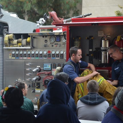 Visit from City of Orange Fire Department (69)